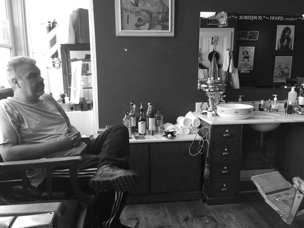 Barbershop at Haarlem